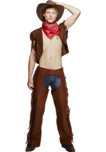 Click Here to buy Mens Sexy Cowboy Costume from HalloweenCostumes, CDN Funds