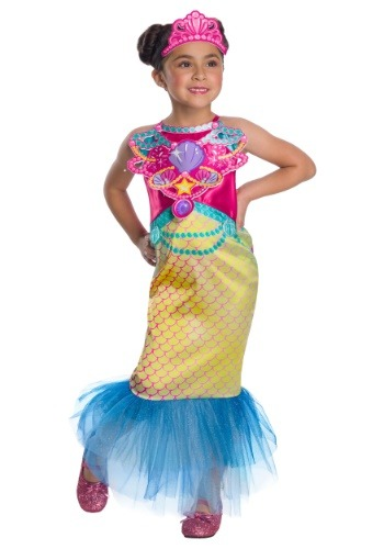 Click Here to buy Barbie Mermaid Girls Costume from HalloweenCostumes, CDN Funds