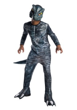 Jurassic World: Fallen Kingdom Blue Velociraptor Kid Costume