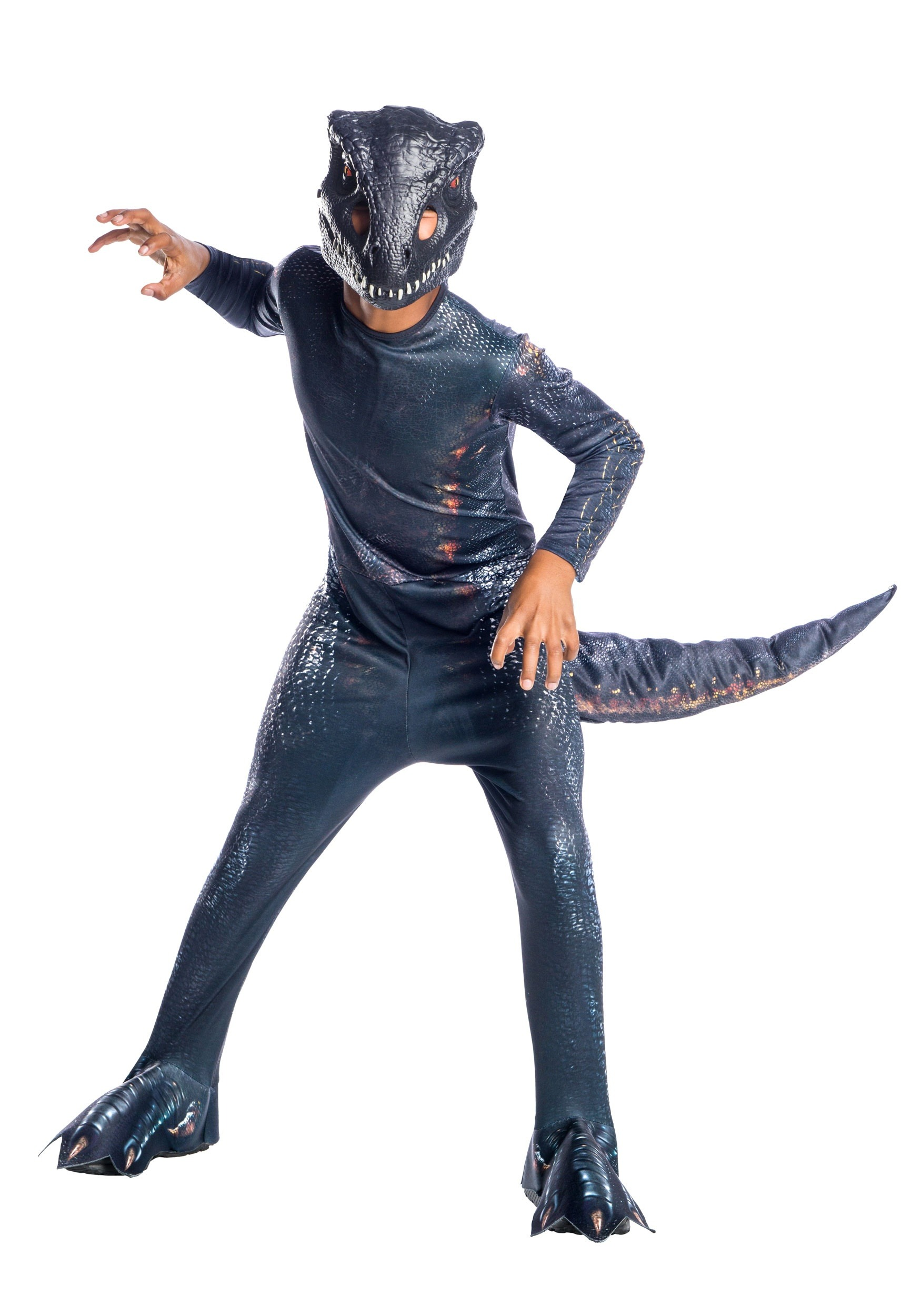 Jurassic World Fallen Kingdom Indoraptor Dinosaur Costume
