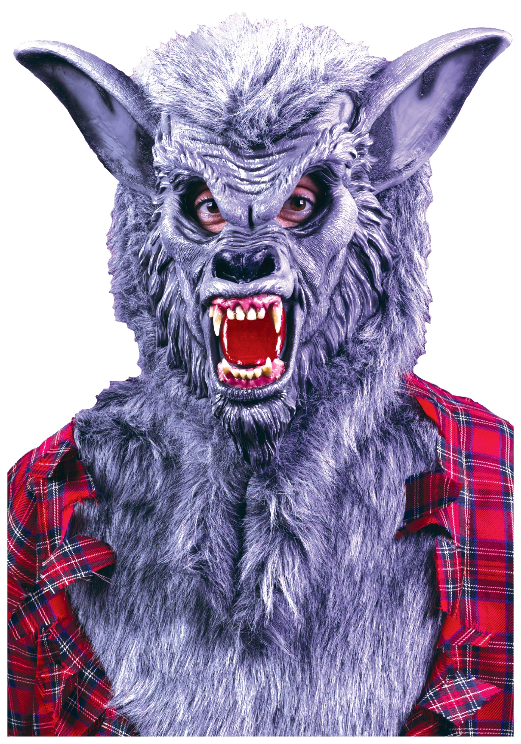 grey werewolf mask - Wolf Halloween Costume Kids