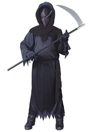 Child Black Faceless Ghost Costume By: Fun World for the 2015 Costume season.