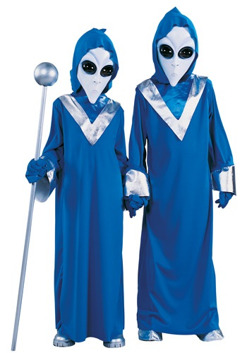Click Here to buy Kids Space Alien Costume from HalloweenCostumes, USA Funds & Shipping