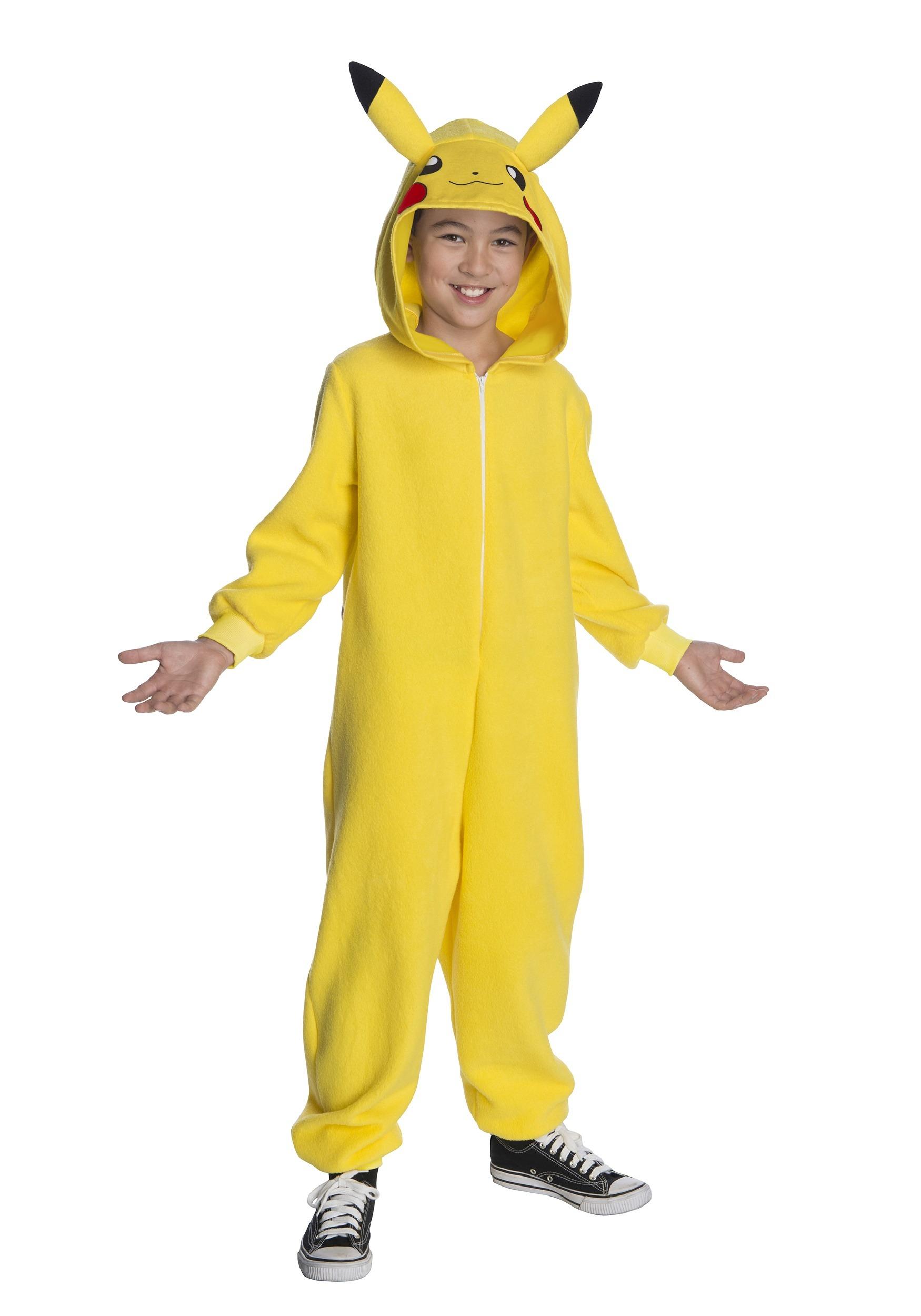 c6e4f64aae62 Pokemon Pikachu Kid s Costume