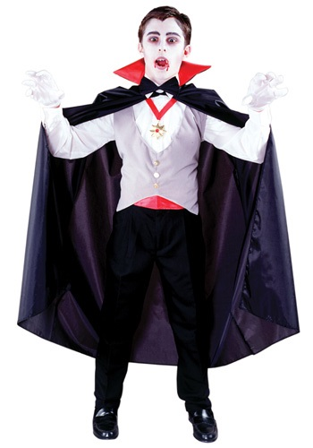 Boys Classic Vampire Costume By: Fun World for the 2015 Costume season.