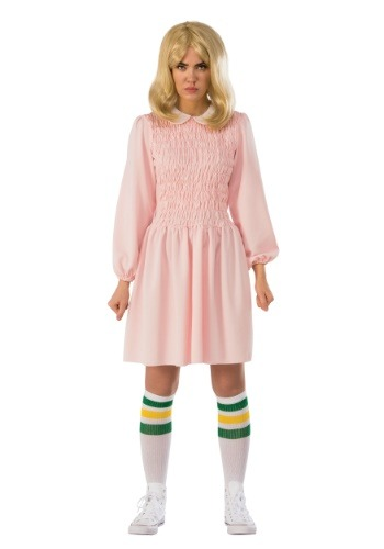 Stranger Things Eleven Dress Women's Costume