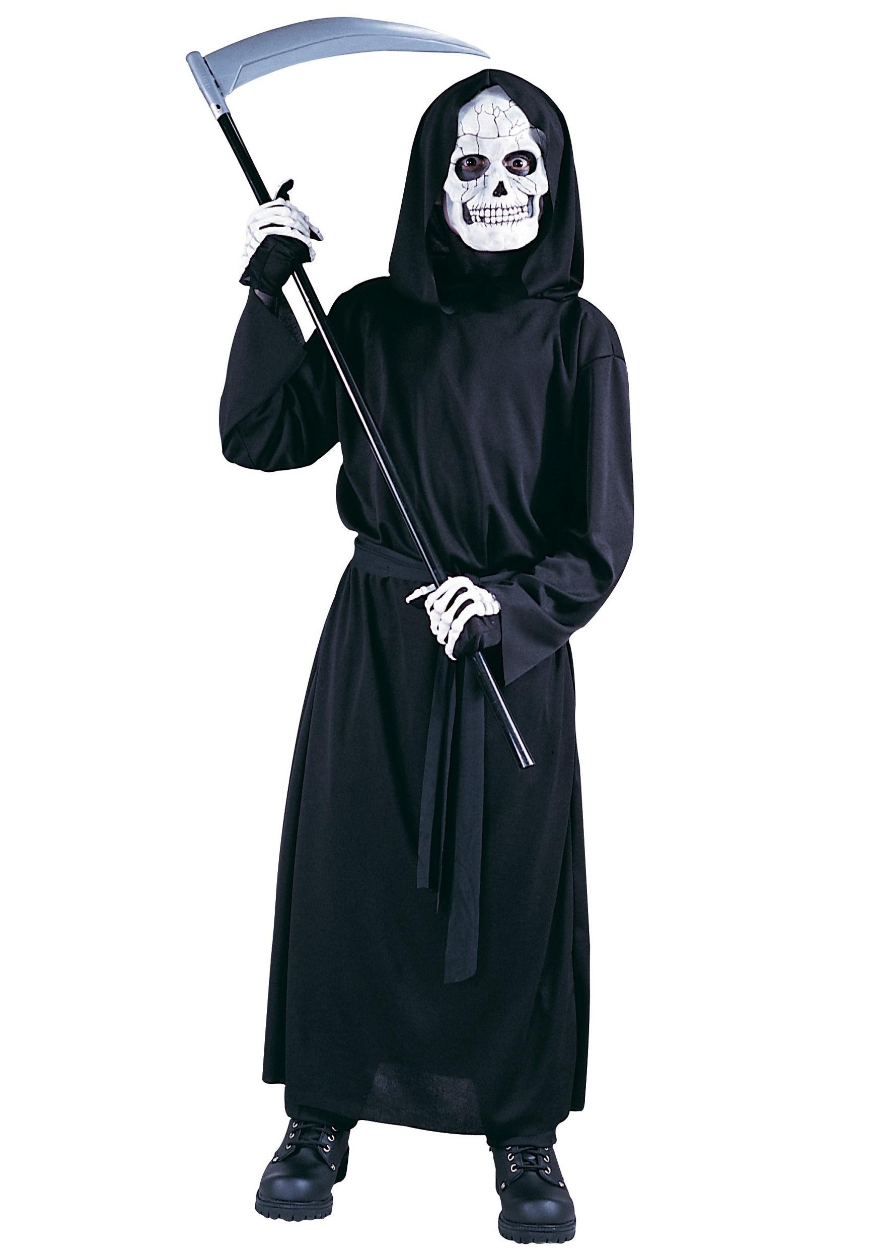 Scream Halloween Costume Kids Photo Album. Kids Skeleton Costume ...