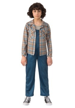 Child Stranger Things Eleven Plaid Shirt-update1
