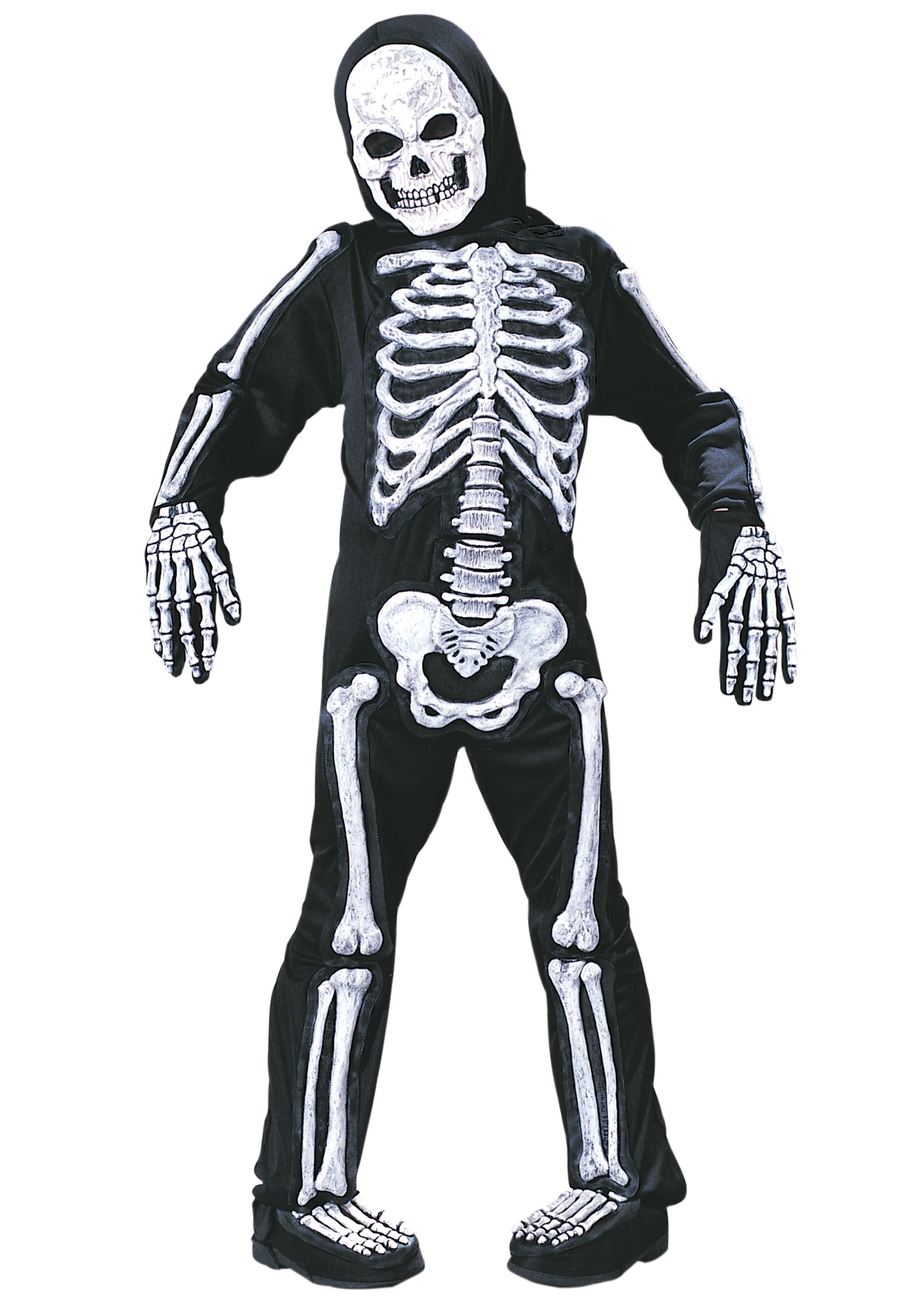 kids skeleton costume - Skeleton Halloween Costume For Kids