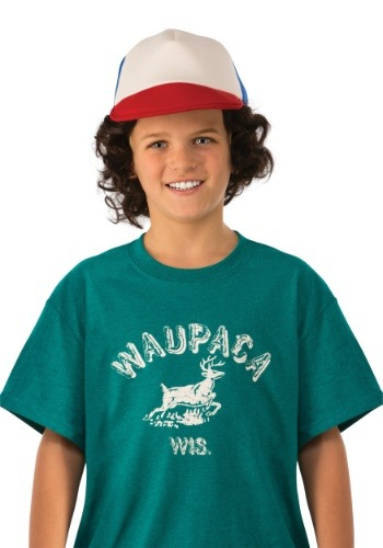 Child Stranger Things Dustin Waupaca Shirt
