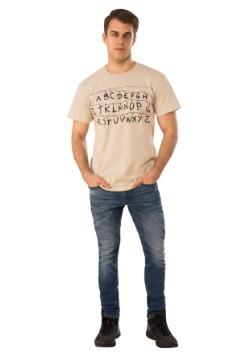 Adult Stranger Things Alphabet Shirt