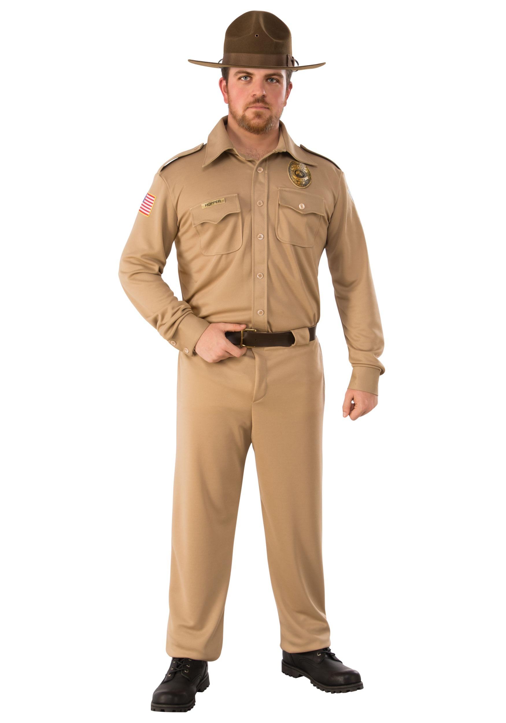 Stranger Things Jim Hopper Adult Costume 4e46845b117e
