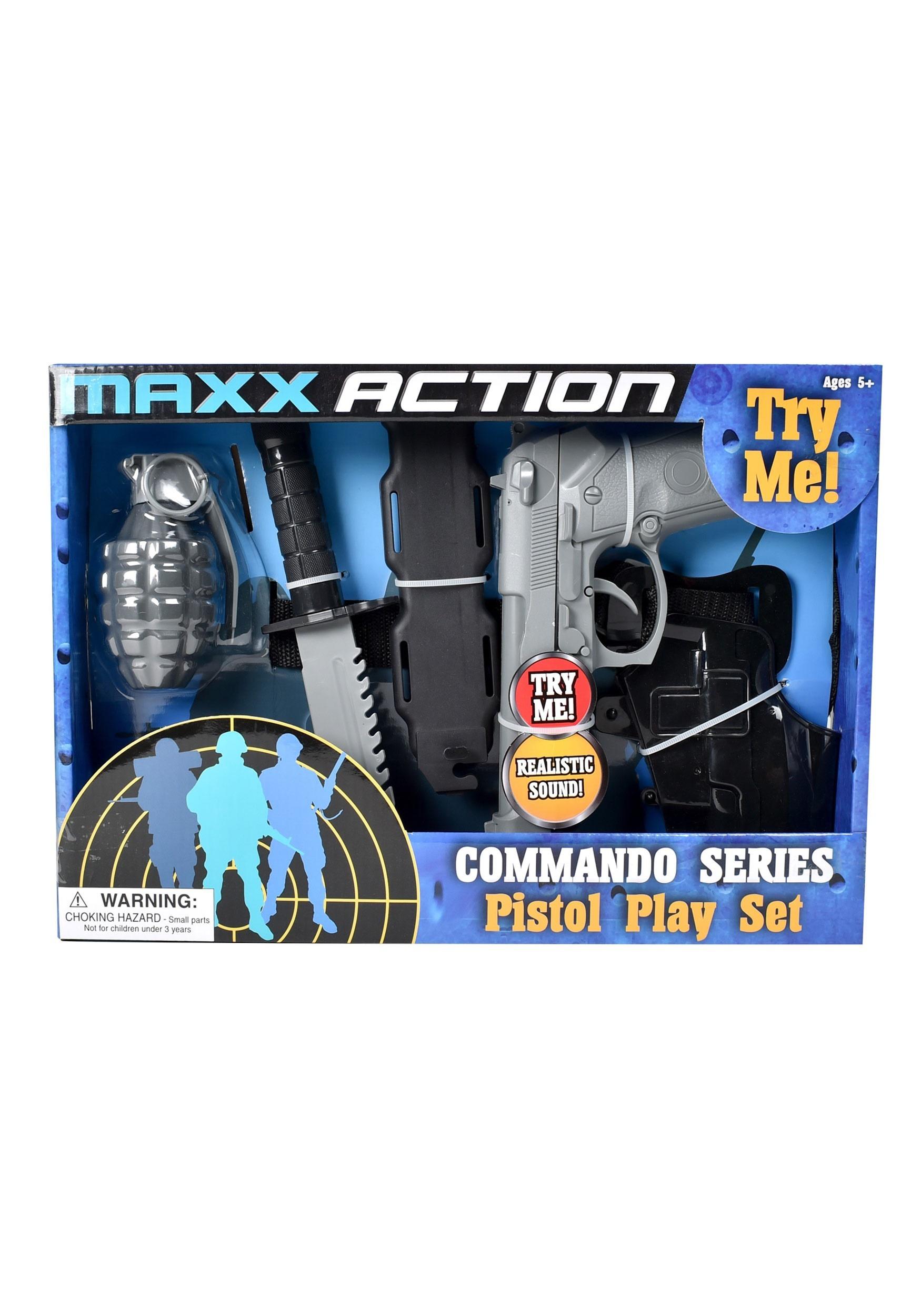 Maxx Action Commando Series Pistol Playset