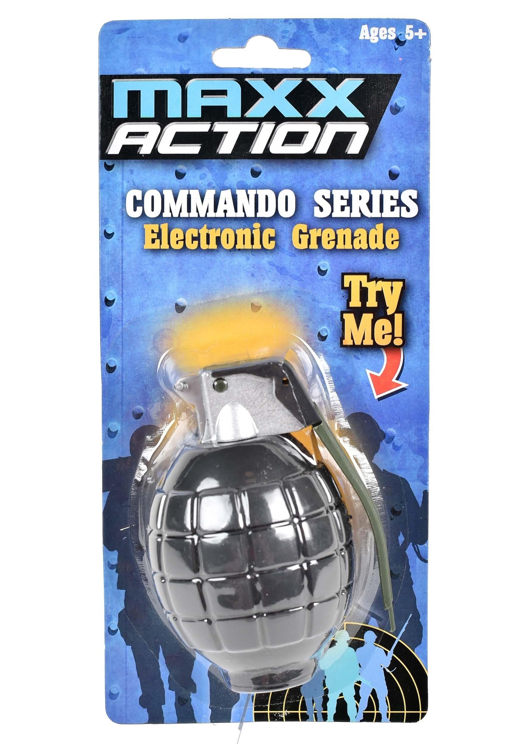 Maxx Action Commando Series Electronic Grenade SND10852