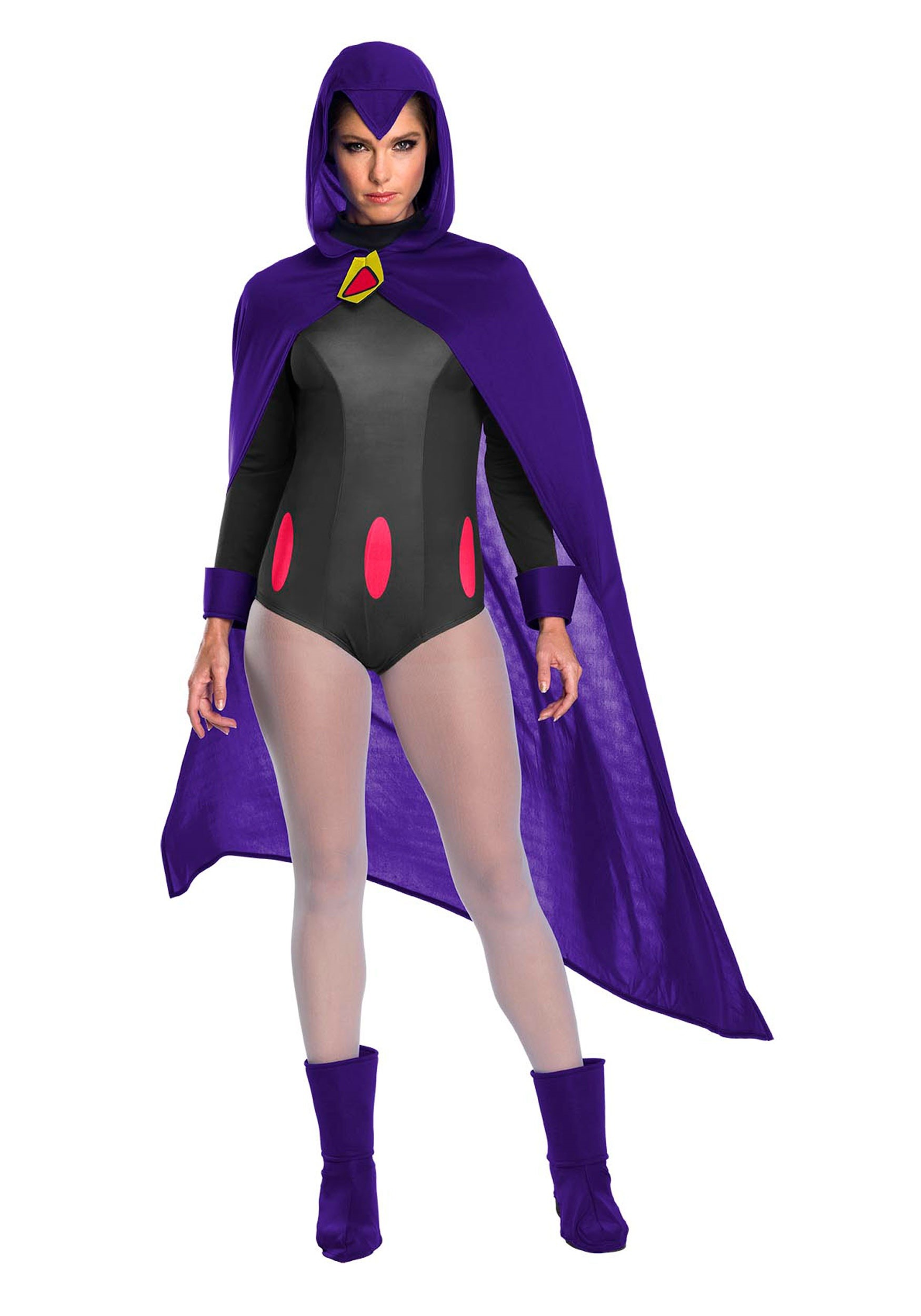 """lady in """"Raven"""" costume"""