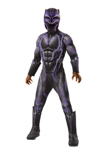 Light Up Black Panther Costume for a Child