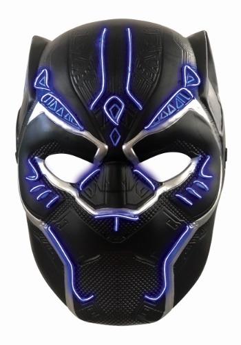 Child Light Up Black Panther Mask