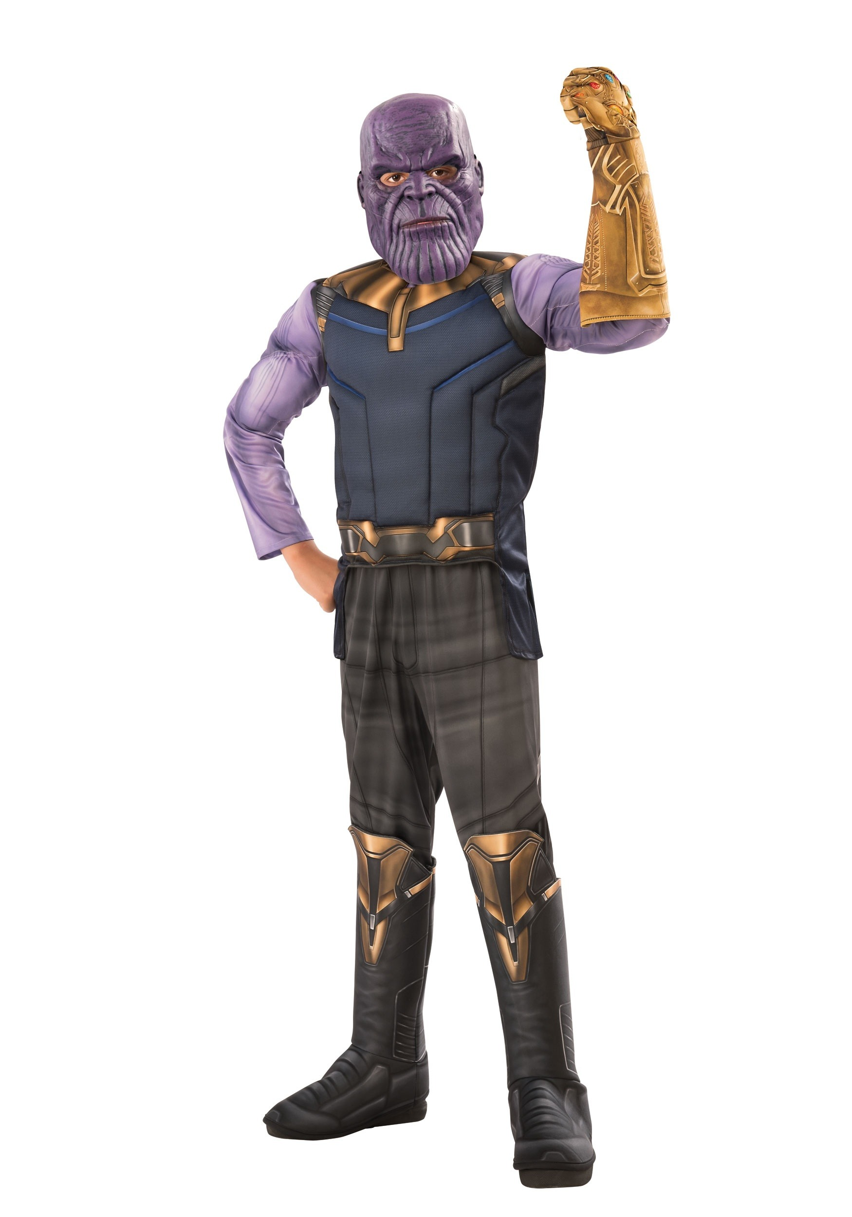 childs marvel infinity war deluxe thanos costume