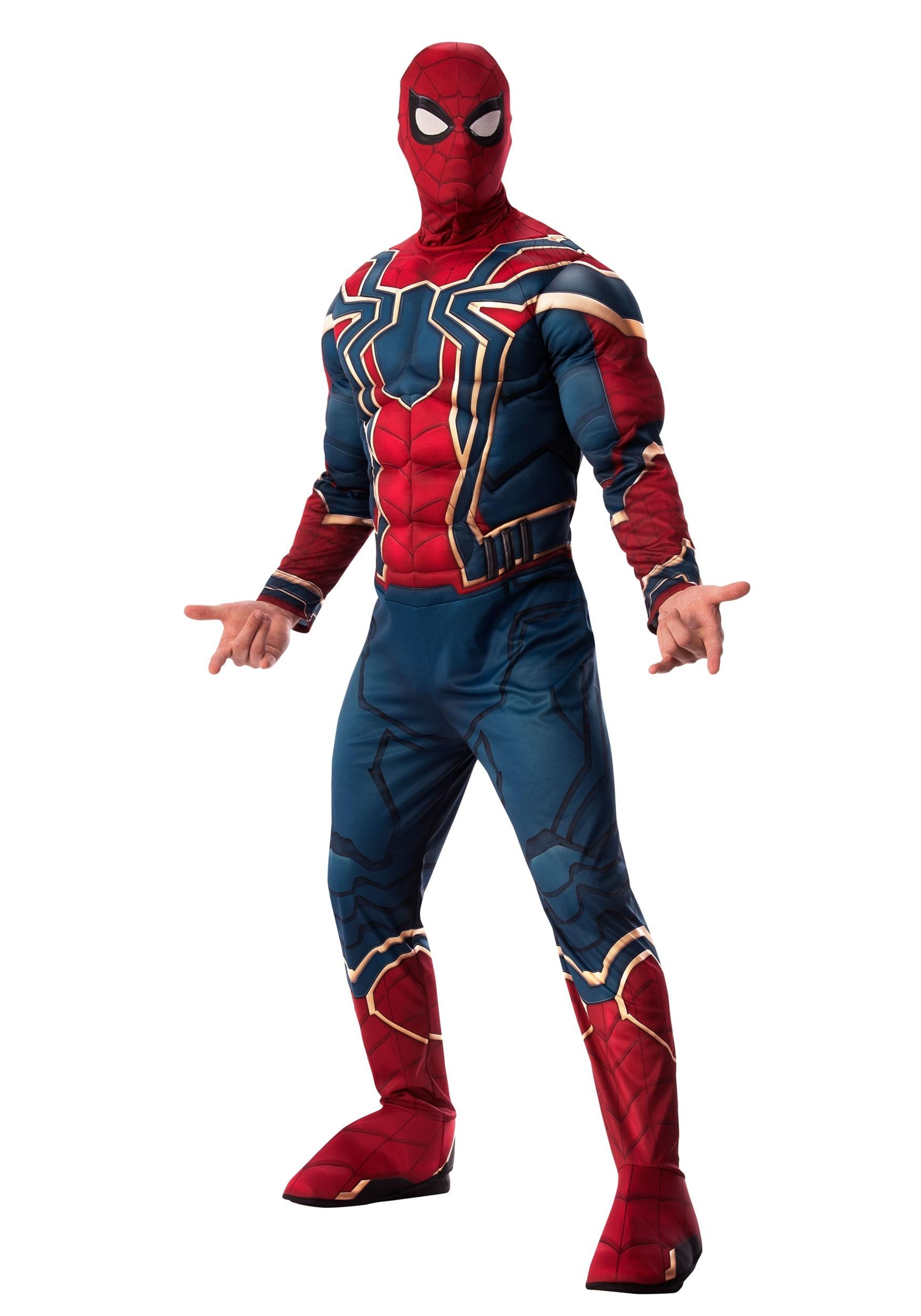 8ec9244a4ba0 Adult Marvel Infinity War Deluxe Iron Spider Costume