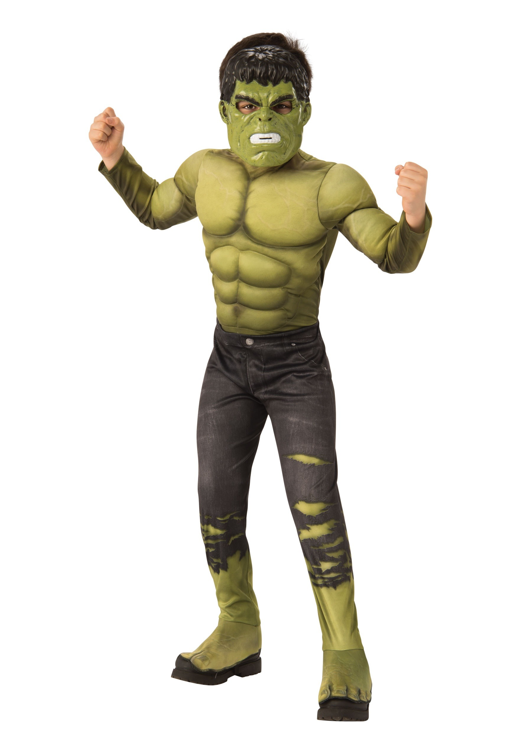 Marvel Childu0027s Infinity War Deluxe Hulk Costume  sc 1 st  Halloween Costumes : hulk costume for boys  - Germanpascual.Com