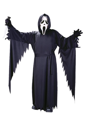 Click Here to buy Teen Ghost Face Costume from HalloweenCostumes, USA Funds & Shipping