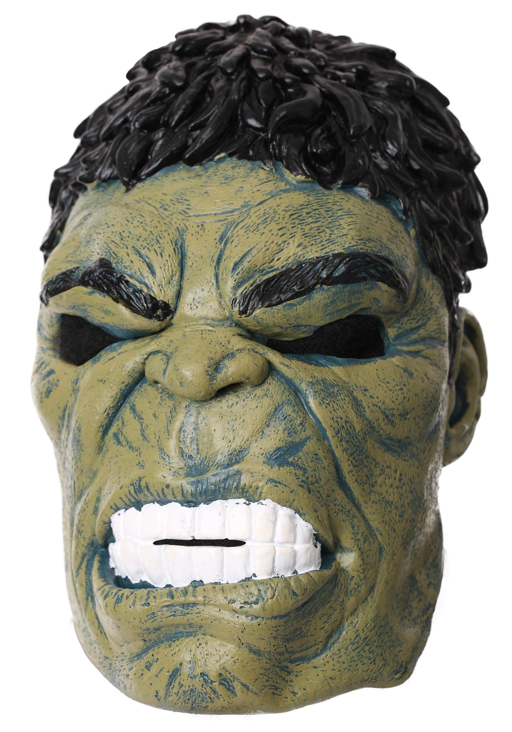 340b1f56aa7 Marvel Avengers Infinity War Hulk Mask for Adults