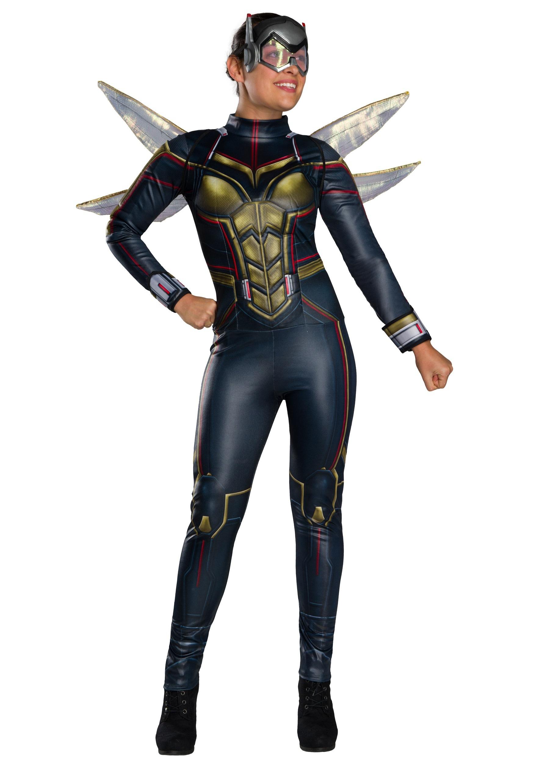 Ant-Man and the Wasp Costume Femminile Suit Halloween Uniforme Full set Unisex