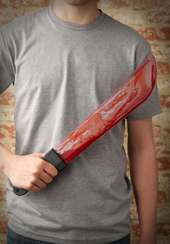 Bleeding Machete Knife By: Fun World for the 2015 Costume season.