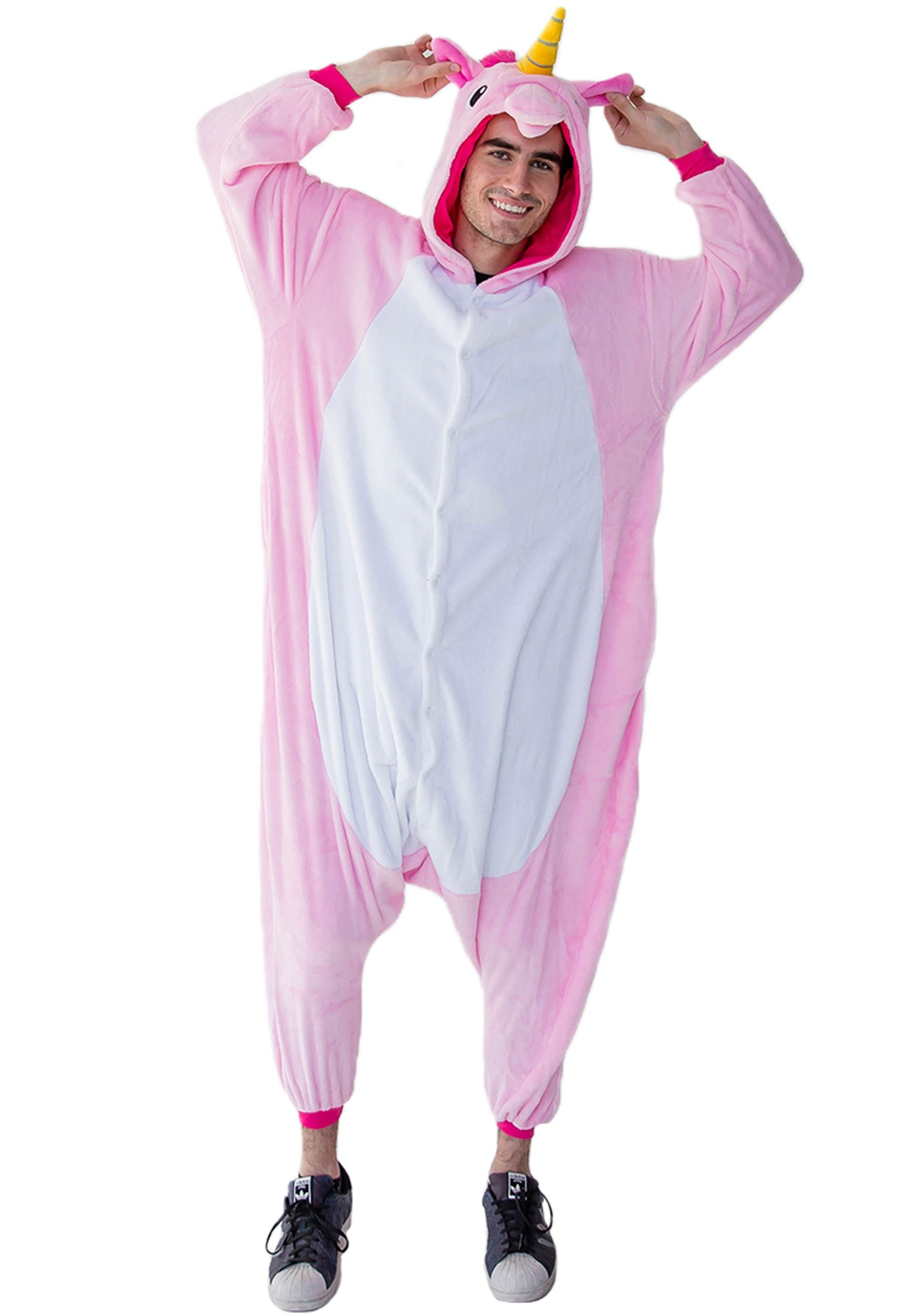 Pink Unicorn Adult Yumio Kigurumi Costume