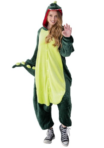 Click Here to buy Dinosaur Adult Yumio from HalloweenCostumes, USA Funds & Shipping