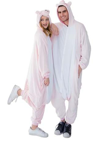 Click Here to buy Adult Pig Yumio Kigurumi from HalloweenCostumes, CDN Funds