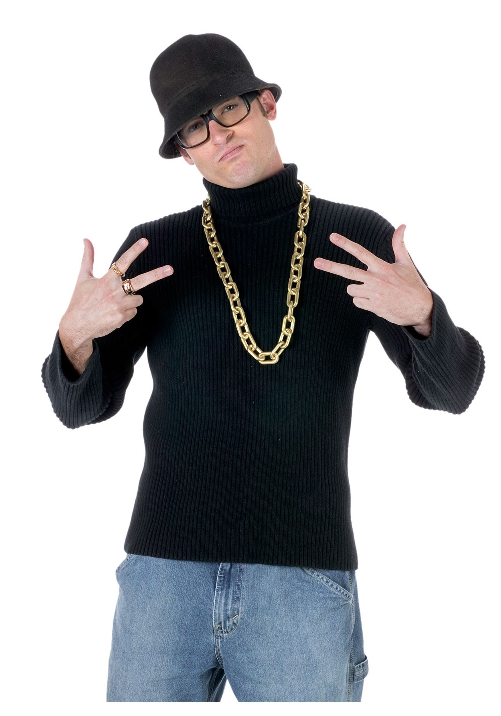 Old School Rapper Costume Kit Jpg