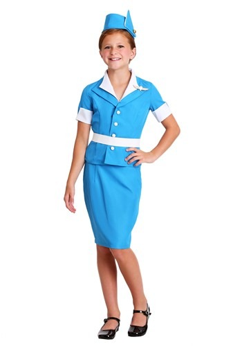 Girl Flight Attendant Costume