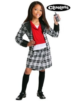 Girls Clueless Dee Costume