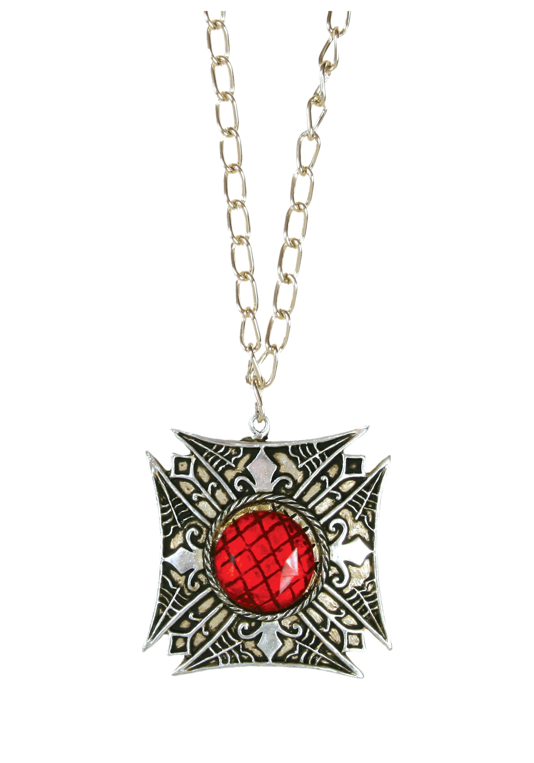 matte necklace products big finish the gold jewelry orchard pendant antique crimson with apple