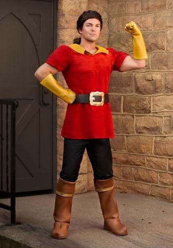 Disney Beauty and the Beast Gaston Mens Costume MAIN UPD-1