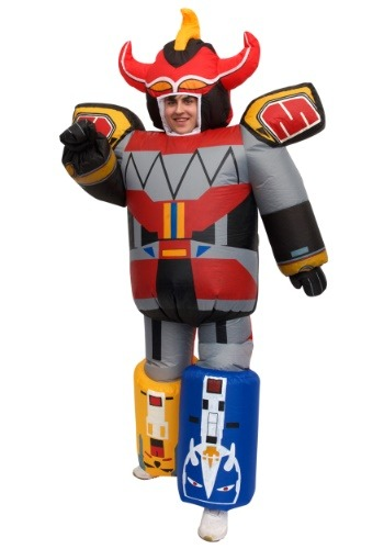 Click Here to buy Inflatable Power Rangers Megazord Costume for Adults from HalloweenCostumes, CDN Funds