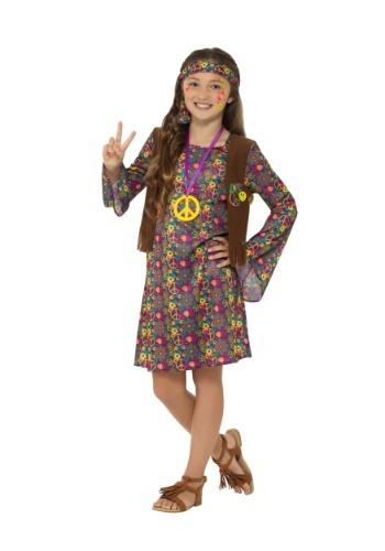 Girl's Hippie Costume
