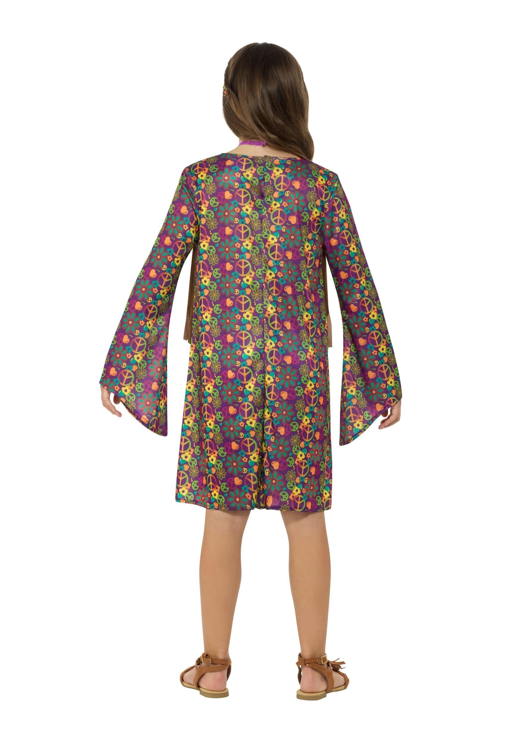 hippie girl's costume