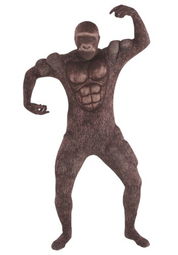 Click Here to buy Muscle Gorilla Adult Morphsuit Costume from HalloweenCostumes, CDN Funds