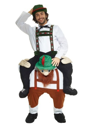 Click Here to buy Bavarian Piggyback Costume for Adults from HalloweenCostumes, CDN Funds