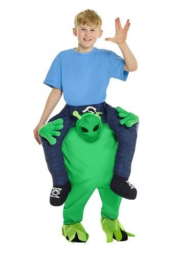Child Alien Piggyback Costume