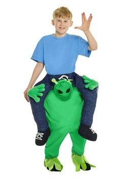 Child Alien Piggyback Costume