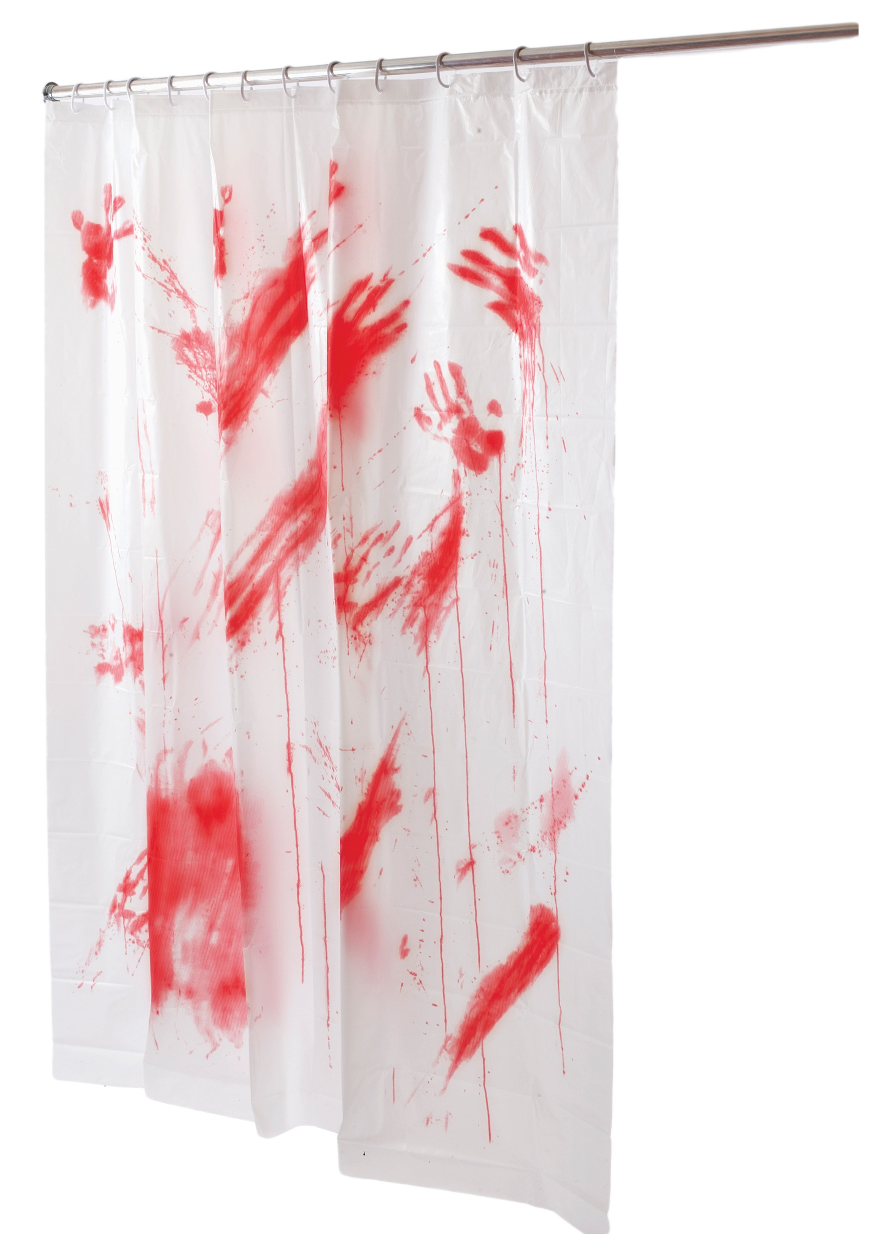 Bloody shower curtain for Psycho shower curtain and bath mat