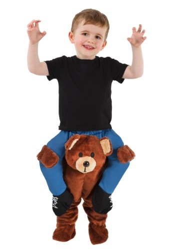 Toddler Teddy Bear Piggyback Costume