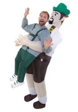 Adult Inflatable Bavarian Pick Me Up Costume
