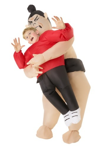 Child Inflatable Sumo Wrestler Pick Me Up Costume
