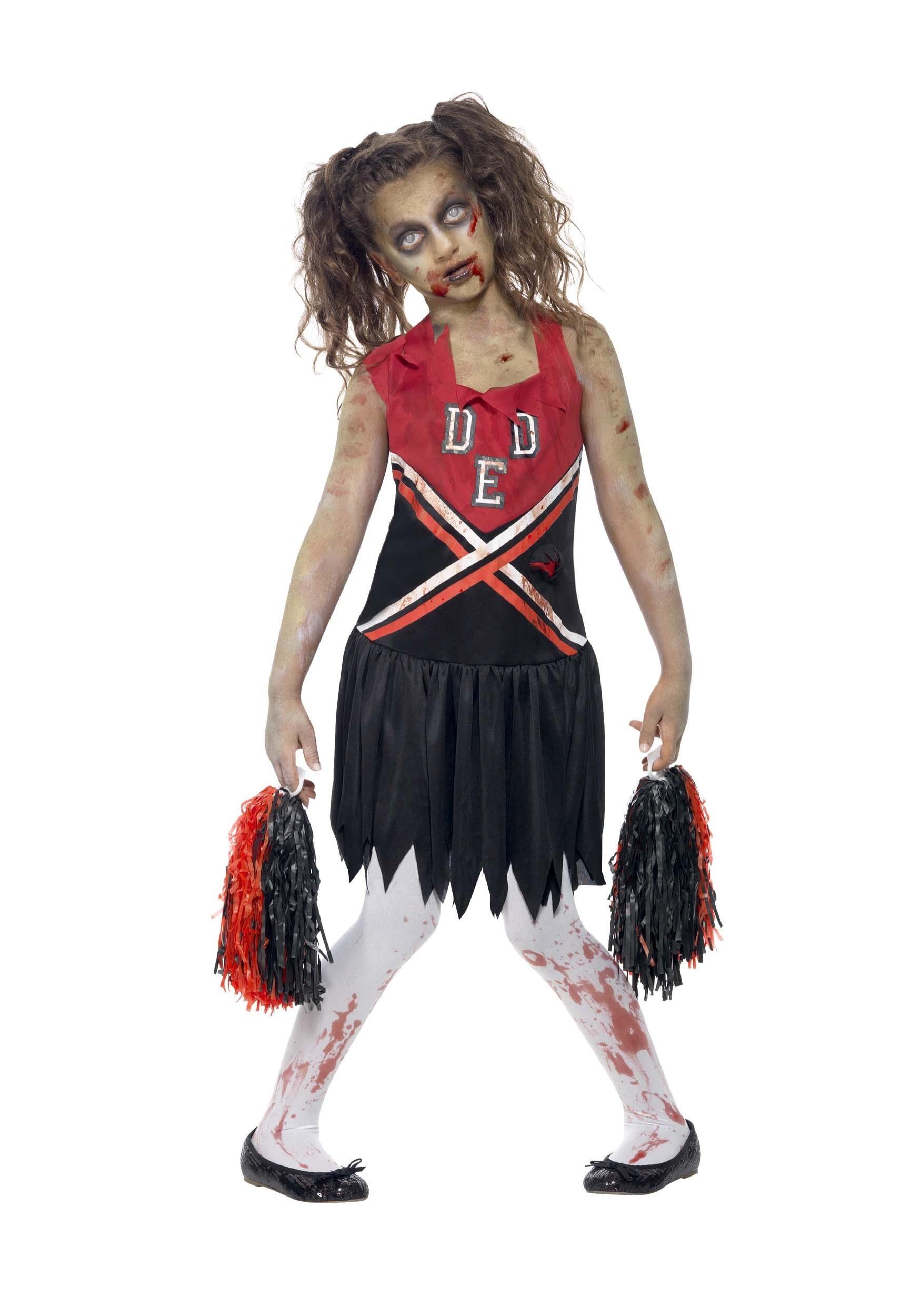 Zombie Cheerleader Costume For Girl S