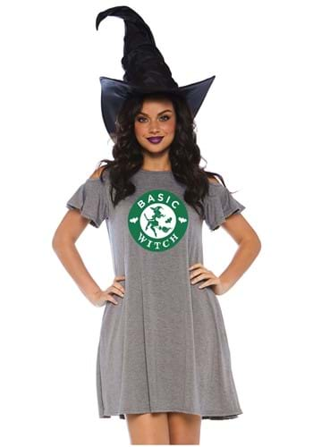 Click Here to buy Basic Witch Jersey Dress from HalloweenCostumes, CDN Funds