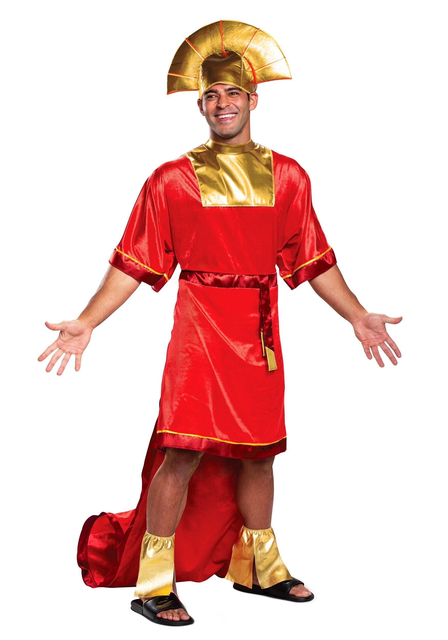 disney emperors new groove kuzco mens costume
